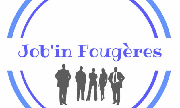 Un emploi à Fougères sur Job'in Fougères.