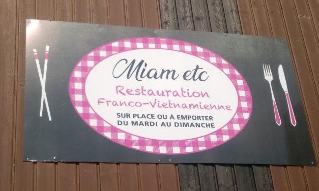 MIAM ETC votre restaurant Franco Vietnamien à Marcey les Grêves. ( Avranches ) Découvrez la suggestion du jour Ici !!!