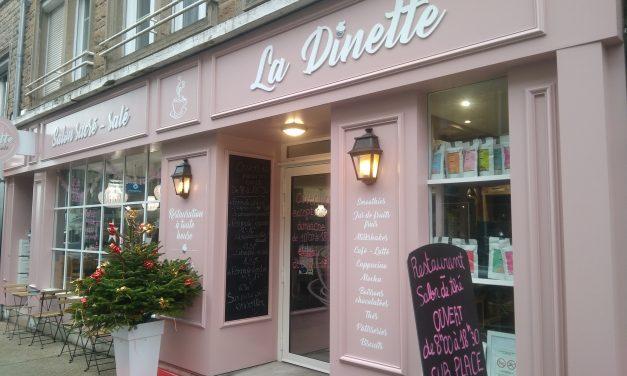 La Dinette votre Salon de Thé et Restaurant à Avranches. Découvrez le Menu de la semaine !!! OUVERT du LUNDI AU SAMEDI de 9h à 18h30