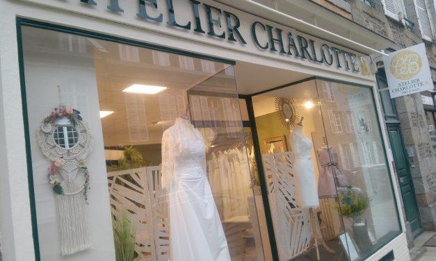 Atelier Charlotte B. c'est l'unique boutique de robes de mariée à Fougères (llle-et-Vilaine).