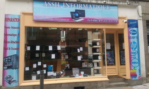 Assil Informatique vente et réparation à Fougères. Spécialisé dans le matériel d'occasion.