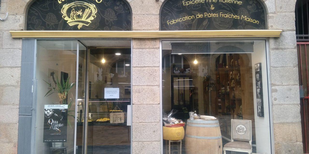 Votre Épicerie Fine Italienne ABRUZZO à Fougères. Venez découvrir toutes nos spécialités !
