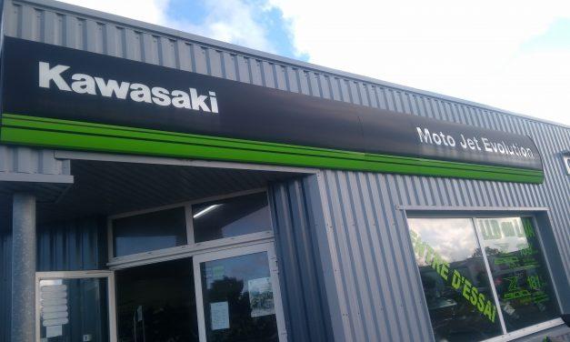 MOTO JET EVOLUTION CONCESSION KAWASAKI À ST PAIR SUR MER.
