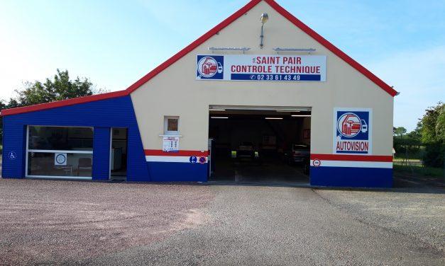 Saint-Pair Contrôle Technique Automobile. Réservez en ligne et profitez d'une remise immédiate !!!