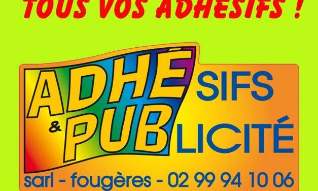 Adhé Pub votre spécialiste de la publicité et de la communication visuel à Fougères !!!