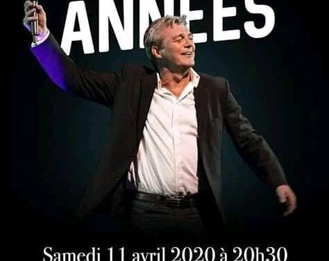 Grand concert Nos Plus Belles Années (Pierre Lemarchal) le samedi 11 Avril 2020 à St Hilaire du Harcouët (20h30 Salle des Fêtes).  Au profit de l'association Grégory Lemarchal.