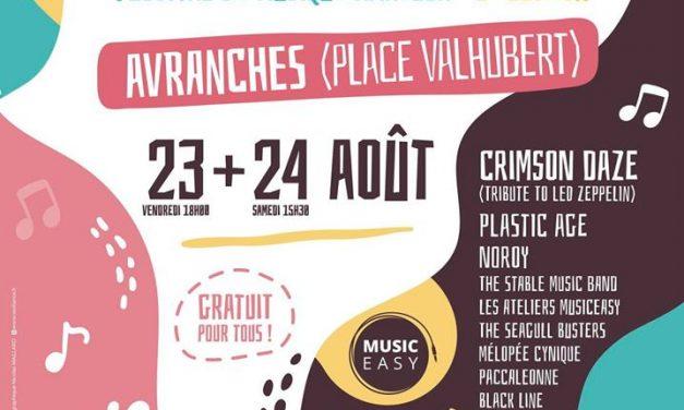 L'AFTER 3 Votre Festival de Musique Amateur le vendredi 23 et le samedi 24 Août 2019 à Avranches (Place Valhubert)