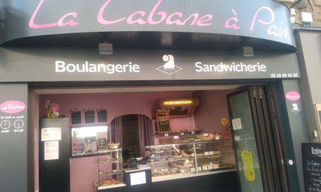 La Cabane à Pain à Avranches. Boulangerie, pâtisserie et sandwicherie. Fabrication maison des viennoiseries, des pâtisseries et du pain.