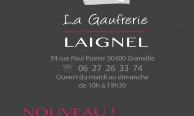 La Gaufrerie (Maison Laignel) à Granville. Restauration sucré et salé à emporter.  Ouvert tous les jours pendant le Carnaval jusqu'au bout de la nuit !!!
