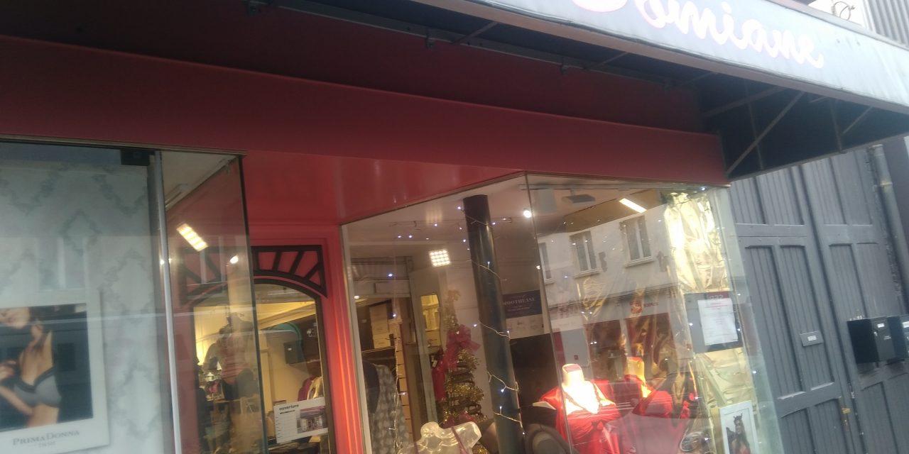La boutique Domiane Lingerie pour hommes et femmes à Granville est fermée jusqu'à nouvel ordre ! A très vite.