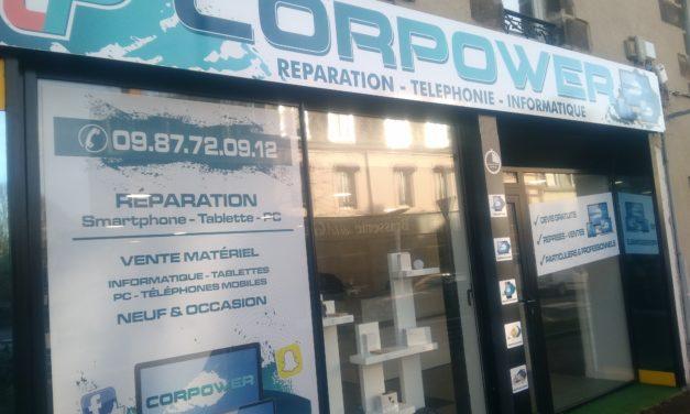 Nouveau !!! Découvrez le magasin Corpower à Granville. Réparations, ventes, rachats de Smartphones, d'Ordinateurs et de Tablettes.
