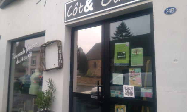 Cot& Ouest votre boutique de vêtements Femmes toutes tailles à Isigny le Buat est fermée pour l'instant !!! Nos dernières Nouveautés Ici !!!