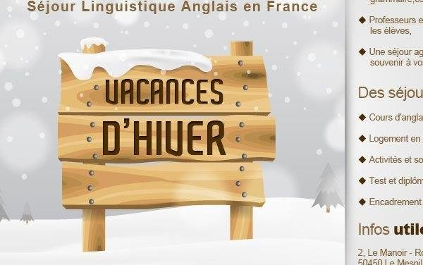 Expérience Anglais. Séjour linguistique éducatif en Normandie !!! Découvrez nos offres de séjours Ici !!! La Promo Hiver !!!
