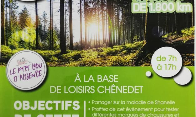 Un P'tit Bou D' Chemin En Forêt à la base de loisirs Chënedet à Landéan (Fougères) le samedi 14 Mars 2020 de 07h00 à 17h00 pour l'association Le P'tit Bou D'absence.