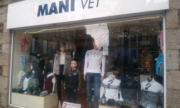 Mani Vêt votre magasin de vêtements Femmes, Hommes et Enfants à Fougères. Découvrez nos Nouveautés, l'offre du moment et commandez Ici !!! Participez au jeu concours !