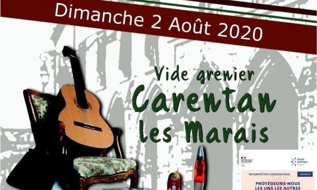 Découvrez toutes les photos de La grande braderie d'été ce dimanche 02 Août 2020 à Carentan les Marais animé par Stéphane Georges Ici !