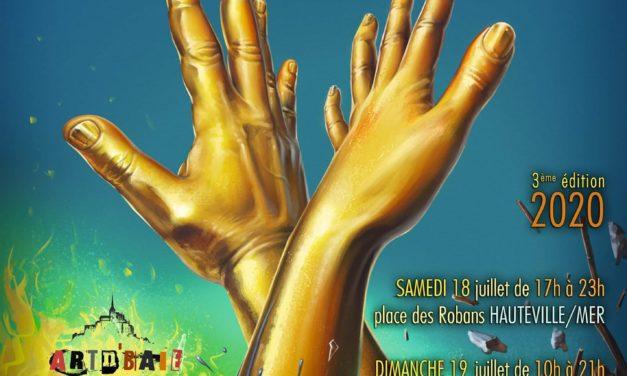 Découvrez les photos du Festival Les Mains d'Or samedi 18 et dimanche 19 Juillet 2020 à Hauteville sur Mer. Marché de l'art et de l'artisanat d'art.