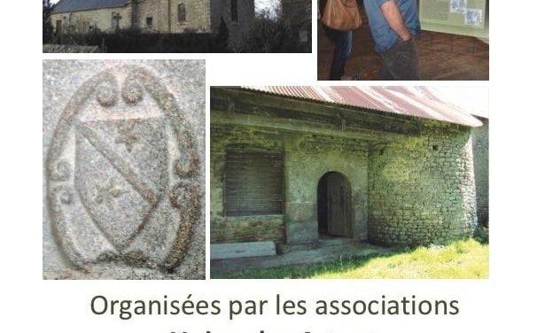 Journées Européennes du Patrimoine à Angey (50) le samedi 19 et le dimanche 20 septembre 2020. Découvrez toutes les animations et le programme ICI !!!