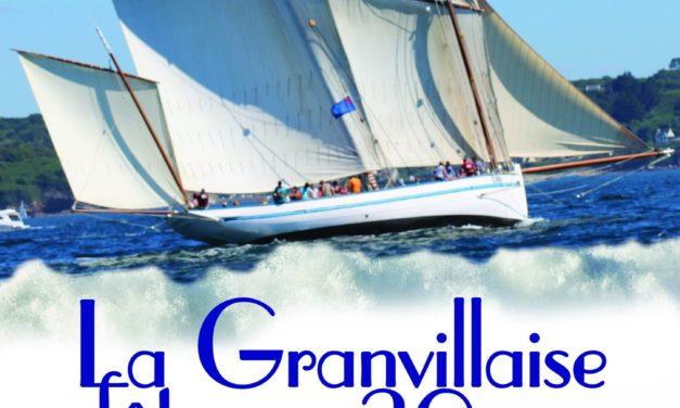 Événement ! La bisquine La Granvillaise fête ses 30 ans du 13 au 23 août ! Accueillez les 30 vieux gréements le vendredi 14 août entre 14h et 18h !