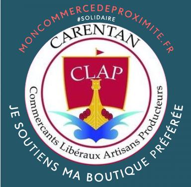 Suivez l'association des commerçants et artisans de Carentan les Marais Le CLAP ICI !!! Toutes les animations en 2021 !