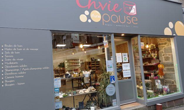 Envie d'une Pause votre magasin de produits cosmétiques naturels à Avranches. Nombreuses idées cadeaux à découvrir en Drive !