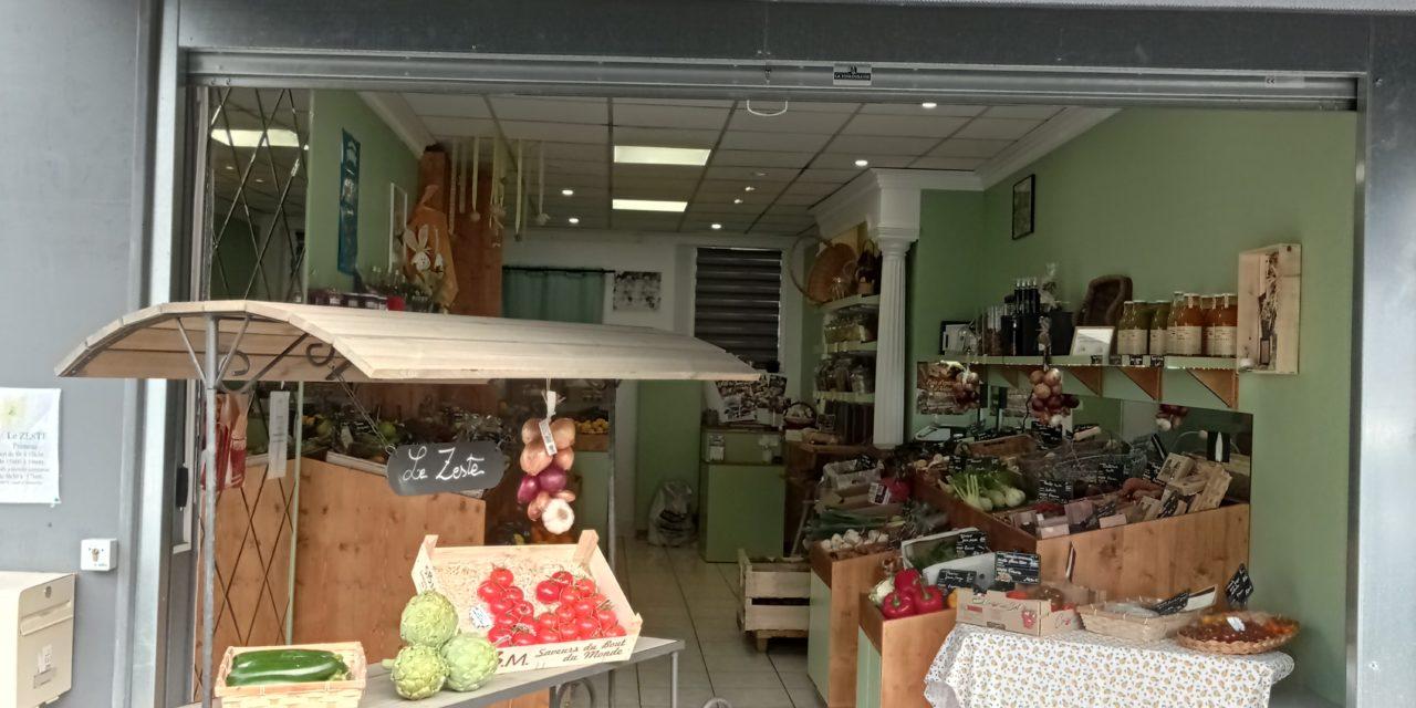 Le Zeste votre primeur à Carentan les Marais. Fruits, légumes, pain d'épice artisanal, gamme de fruits secs, produits bio et locaux.