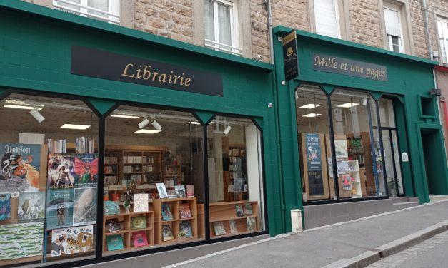 Mille et une pages à Avranches votre librairie généraliste. Nouveautés, les Mangas, les livres ésotérismes, les livres en langues étrangères et la jeunesse.