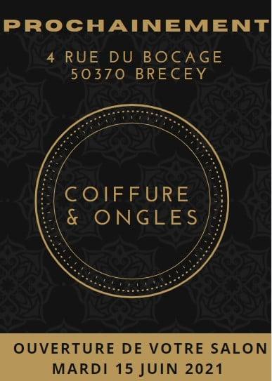 Nouveau ! Votre salon Coiffure & Ongles à Brécey. Prenez rendez vous ici !