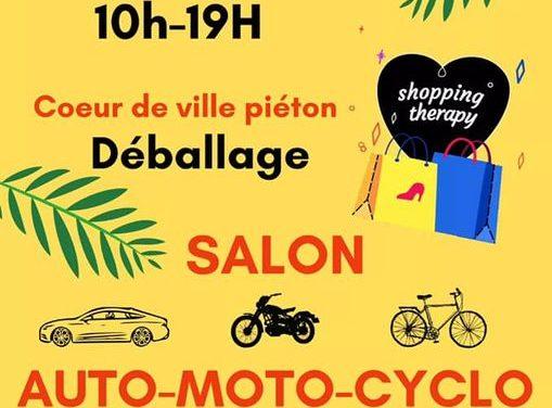 Grand salon Auto, Moto et Cyclo à Granville dimanche 27 Juin 2021. Animations, commerçants ouverts et nombreuses surprises toute la journée.