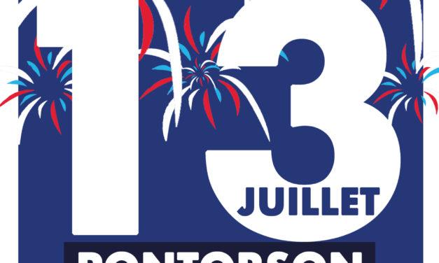 Feux d'artifice le 13 Juillet 2021 à Pontorson. Rendez vous au stade à partir de 23h00.