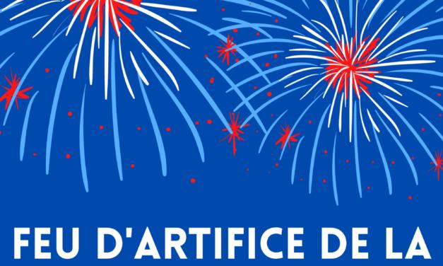Feu d'artifice le 13 juillet, à partir de 23h30, sur le port de Carentan les Marais (50 Manche)