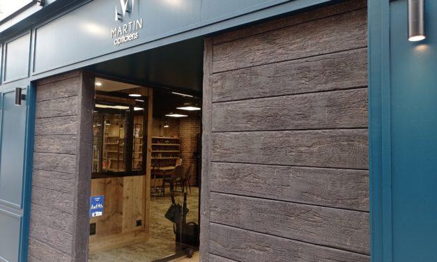 Nouveau à Granville ! Venez découvrir le magasin MARTIN Opticiens. Lunettes de vues et solaires. Lentilles de contacts. Examens de la vue.