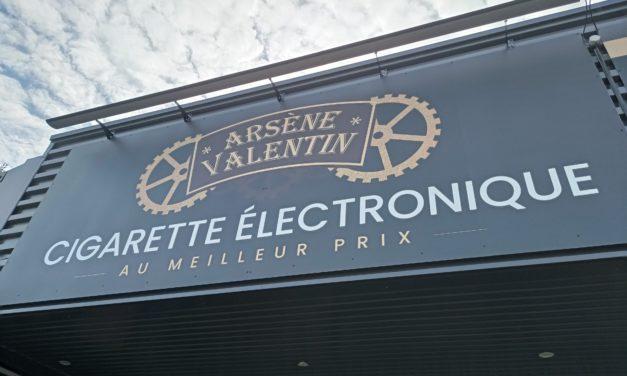 Nouveau à Fougères ! Découvrez la boutique Arsène Valentin à Lécousse. Votre spécialiste de la Vape, cigarettes électroniques, liquides et CBD.